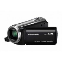 "Panasonic HC-V520E, crvena, FullHD 50p, 50x opt. 28-1748mm, 3"" touch, foto 10Mpx, WL, Power O.I.S., 12mj"