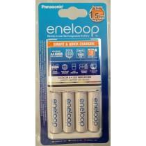 Panasonic punjač baterija K-KJ51MCC40E, BASIC, eneloop, punjač i 4xAAA baterije min. 800mAh, cca. 10h/par