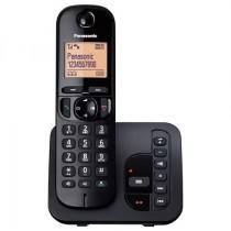 Telefon Panasonic KX-TGC220FXB, crna, Bežični, tajnica, SMS, 24mj