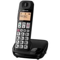 Telefon Panasonic KX-TGE110FXN, crna, Bežični, 24mj