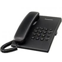Telefon Panasonic KX-TS500FXB, crna, Žični, 24mj