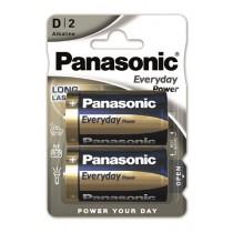 Baterije Panasonic LR20EPS/2BP, 2x LR20