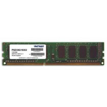 DDR3 8GB (1x8GB), DDR3 1600, CL11, DIMM 240-pin, Patriot Signature Line PSD38G16002, 36mj