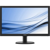 "Monitor Philips 23.8"", V-Line, 240V5QDSB, 1920x1080, LCD LED, IPS, 5ms, 178/178o, VGA, HDMI, DVI-D, crna, 24mj"