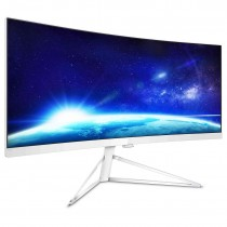 "Monitor Philips 34"", 349X7FJEW/00, 3440x1440, LCD LED, VA, zakrivljen, 4ms, 178/178o, HDMI 2x, DP, Lift, Zvučnici, bijela, 24mj"