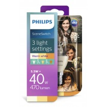 Philips Žarulja SSW E14 LED, 5.5 - 4 - 2W, 5.5W, 470lm, 2700K, Kruška, (929001260817)