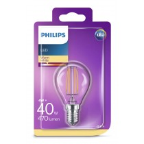 Philips Žarulja P45 E14 LED, 4W, 470lm, 2700K, Kruška, (929001258117)
