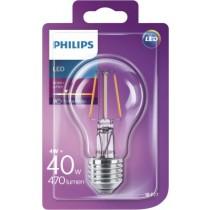 Philips Žarulja A60 E27 LED, 4W, 480lm, 2700K, Kruška, (929001237101)