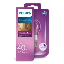 Philips Žarulja P45 E27 LED, 4.5W, 470lm, 2700K, zatamnjiva, Kruška, (929001227601)