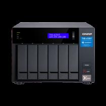 NAS QNAP TVS-672XT-I3-8G,  max. 6x disk, LAN 3x, Tower, 36mj