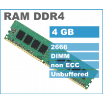 DDR4 4GB (1x4GB), DDR4 2666, DIMM 288-pin, 36mj