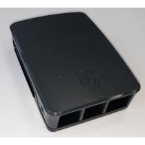 Raspberry Pi Case Model 4B, RPI Pi 4 Case (Bk/Gy), Crno/Sivo