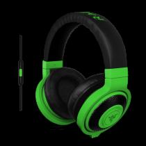 Slušalice Razer Kraken Mobile -  Mobile Analog Headset (Neon Green), microphone, crna, 12mj, (RZ04-01400100-R3M1)