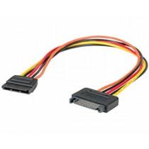 Kabel za SATA naponski produžni kabel, 30cm SATA (f)/SATA (m)