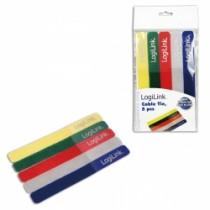 Organizator kablova LogiLink Cable Tie with velco , razne boje (KAB0008)