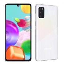 """Samsung Galaxy A41 White, bijela, Android, 4GB, 64GB, 6.1"""", 24mj, (SM-A415FZWDEUG)"""