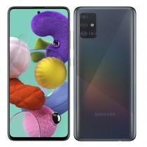 "Samsung Galaxy A51 Black, crna, Android, 4GB, 128GB, 6.5"", 24mj, (SM-A515FZKVEUG)"