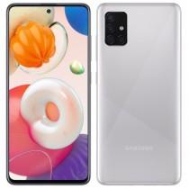 """Samsung Galaxy A51 Silver, srebrna, Android, 4GB, 128GB, 6.5"""", 24mj, (SM-A515FMSVEUG)"""
