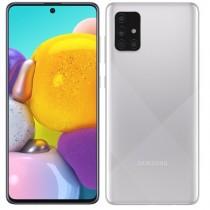 """Samsung Galaxy A71 Silver, srebrna, Android, 6GB, 128GB, 6.7"""", 24mj, (SM-A715FMSUSIO)"""