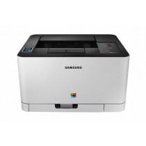 Samsung SL-C430W, bijela/crna, c/b 18str/min, kolor 4str/min, print, laser, color, A4, USB, LAN, WL, 12mj
