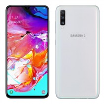"Samsung Galaxy A70 White, bijela, Android, 6GB, 128GB, 6.7"", 24mj, (SM-A705FZWUSIO)"