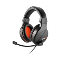 Slušalice Sharkoon Rush ER3 black-orange, microphone, crna, 24mj, (45677)