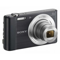 Sony DSC-W810B, crna, 20.1Mpx, 6x opt. 27-162mm f3.5-6.5, 24mj