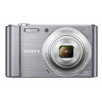Sony DSC-W810S, srebrna, 20.1Mpx, 6x opt. 27-162mm f3.5-6.5, 24mj