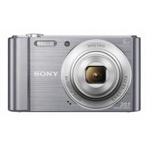 Sony DSC-W810S, srebrna, 20.1Mpx, 6x opt. 27-162mm f3.5-6.5, 24mj
