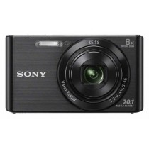 Sony DSC-W830B, crna, 20.1Mpx, 8x opt. 25-200mm f3.3-6.3, 24mj