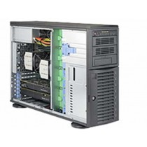 PC Supermicro Barebone, SYS-7048A-T, crna, Miditower, 36mj