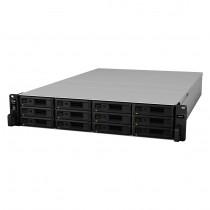 NAS Synology RS3618xs,  max. 12x disk, LAN 4x, Rack 2U, 60mj