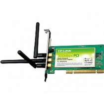 TP-Link TL-WN951N Wireless PCI Adapter 300Mbps (2.4GHz), 802.11n/g/b, with 3 detachable antennas (TL-WN951N)