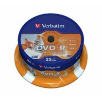 DVD-R Verbatim 16x 4.7 GB (43538) printable