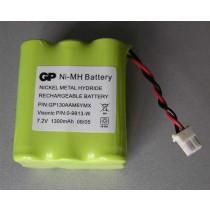 Visonic baterija 7.2V, Ni-MH, 0-9913-W, GP130AAM6YMX