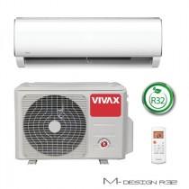 Klima Vivax ACP-09CH25AEMI R32 + WiFi, inverter, hlađenje: 2.64kW, grijanje: 2.93kW, split, zidni, vanjska+unutarnja