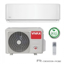 Klima Vivax ACP-24CH70AERI R32, inverter, hlađenje: 7.03kW, grijanje: 7.91kW, split, zidni, vanjska+unutarnja