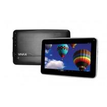 """Tablet Vivax TPC-7101, crna, CPU 2-jezgreni, Android 4.4, 512MB, 4GB, 8"""" IPS 800x480, Front 0.3Mpx, WL, 12mj"""