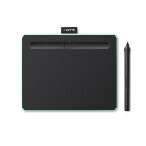 Grafički tablet Wacom Intuos Pen & Bluetooth Small, 152mm x 95mm, 12mj, pistacio, Bluetooth, CTL-4100WLE-N