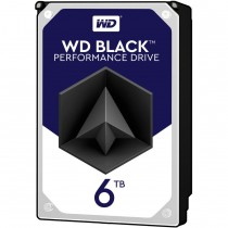 "HDD WD 6TB, Desktop Black, WD6003FZBX, 3.5"", SATA3, 7200RPM, 256MB, 60mj"