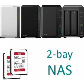 Synology NAS 2-bay KIT ds21xx