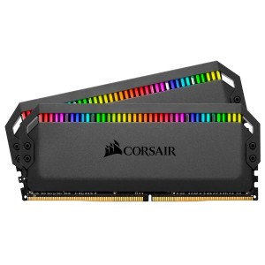 DDR4 16GB (2x8GB), DDR4 4800, CL18, DIMM 288-pin, Corsair Dominator Platinum RGB CMT16GX4M2K4800C18, 36mj