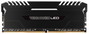 DDR4 16GB (2x8GB), DDR4 3000, CL16, DIMM 288-pin, Corsair Vengeance LED CMU16GX4M2D3000C16, 36mj