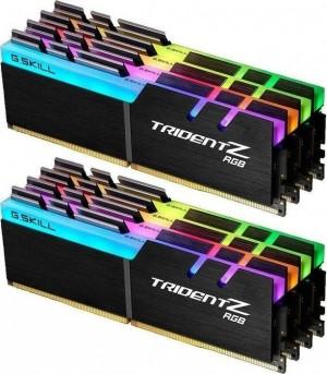 DDR4 128GB (8x16GB), DDR4 3333, CL16, DIMM 288-pin, G.Skill Trident Z RGB F4-3333C16Q2-128GTZR, 36mj