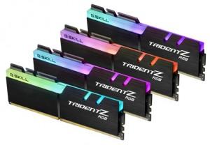 DDR4 32GB (4x8GB), DDR4 3866, CL18, DIMM 288-pin, G.Skill Trident Z RGB F4-3866C18Q-32GTZR, 36mj