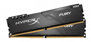 DDR4 8GB (2x4GB), DDR4 3200, CL16, DIMM 288-pin, Kingston Fury HX432C16FB3K2/8, 36mj